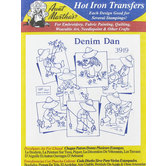 Denim Dan Vintage Embroidery Transfer Pattern